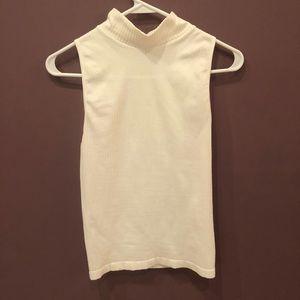 Venus sleeveless mock neck top